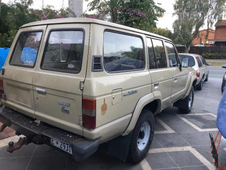 1981 60 series Toyota Landcruiser